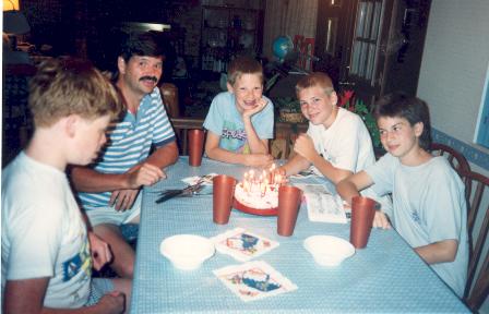 Jr. High School Birthday Party