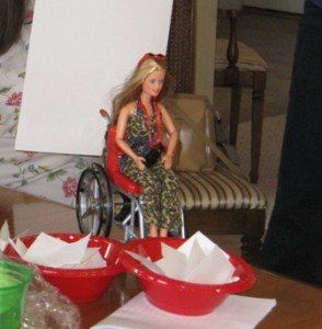 """Wheelchair Becky"" chooses a Pen Name"