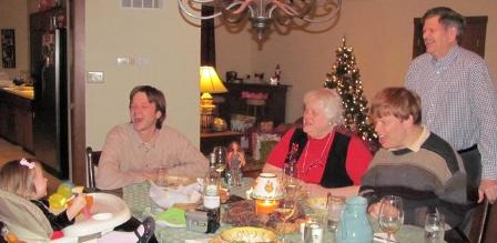 Christmas Dinner w/Smokey Woods