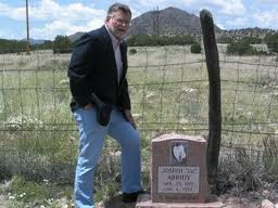 Bob Perske by Joe Arridy's Grave