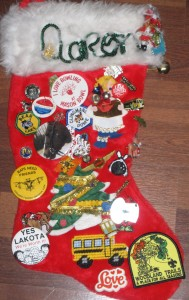 Aaron's Christmas Stocking